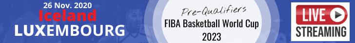 FIBA WC 2023 ISL-LUX